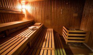 Sauna w Aquaparku Wrocław