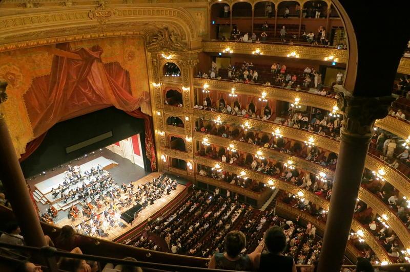 Opera Wrocławska - plan widowni