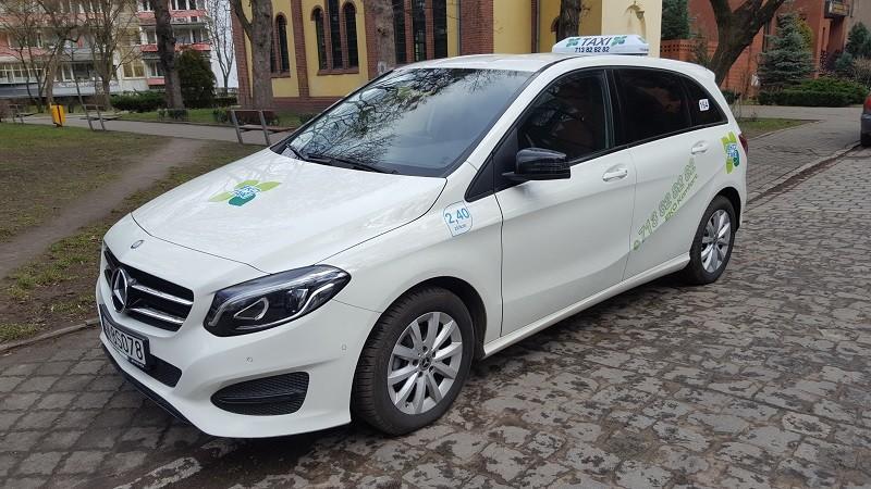 Taksówka Eko Taxi oferuje wiele usług dodatkowych