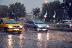 Taxi we Wrocławiu świetnie sprawdzają się w złą pogodę