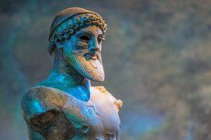 Pomnik Posejdona - boga mórz