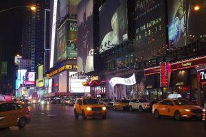 Ruchliwe centrum Nowego Jorku