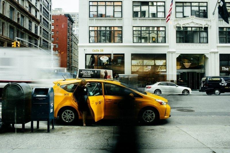 Taksówka na ulicy