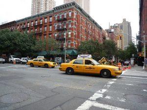 Taryfa na skrzyżowaniu w Nowym Jorku