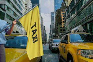 Żółte taksówki w Nowym Jorku - poznaj ich historię z Eko Taxi we Wrocławiu